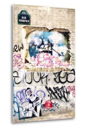 Street Art Paris-Philippe Hugonnard-Metal Print