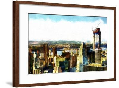 Midtown Manhattan II-Philippe Hugonnard-Framed Giclee Print