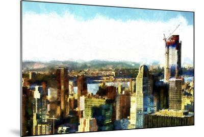 Midtown Manhattan II-Philippe Hugonnard-Mounted Giclee Print
