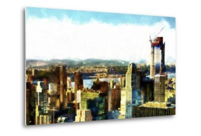 Midtown Manhattan II-Philippe Hugonnard-Metal Print