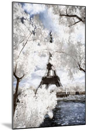 View of the Eiifel Tower - In the Style of Oil Painting-Philippe Hugonnard-Mounted Giclee Print