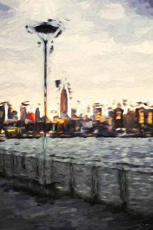 Sunset Light - In the Style of Oil Painting-Philippe Hugonnard-Framed Giclee Print