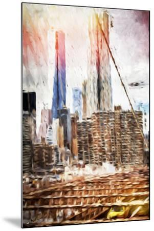 Towers - In the Style of Oil Painting-Philippe Hugonnard-Mounted Giclee Print