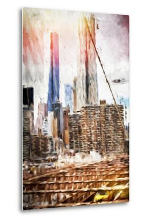 Towers - In the Style of Oil Painting-Philippe Hugonnard-Metal Print