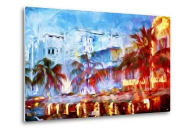 Boulevard Hotel - In the Style of Oil Painting-Philippe Hugonnard-Metal Print