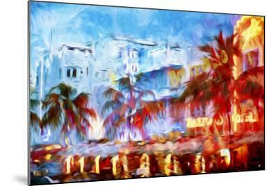 Boulevard Hotel - In the Style of Oil Painting-Philippe Hugonnard-Mounted Giclee Print