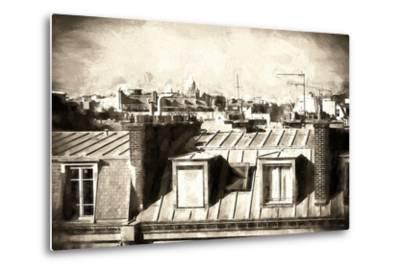 Paris Rooftops III-Philippe Hugonnard-Metal Print