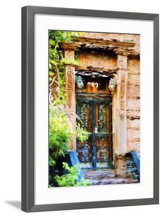 Closed Door - In the Style of Oil Painting-Philippe Hugonnard-Framed Giclee Print
