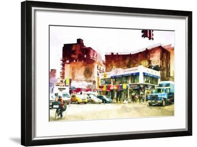 NYC Intersection-Philippe Hugonnard-Framed Giclee Print