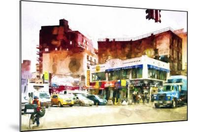 NYC Intersection-Philippe Hugonnard-Mounted Giclee Print