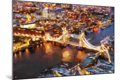 London Cityscape IV - In the Style of Oil Painting-Philippe Hugonnard-Mounted Giclee Print