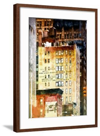 Travel Building-Philippe Hugonnard-Framed Giclee Print