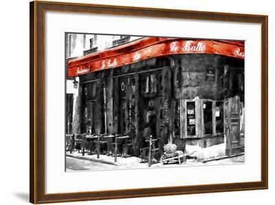 Traditional Parisian Bar II-Philippe Hugonnard-Framed Giclee Print