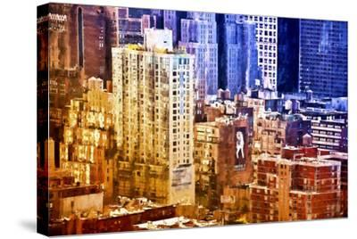 New York District Colors-Philippe Hugonnard-Stretched Canvas Print