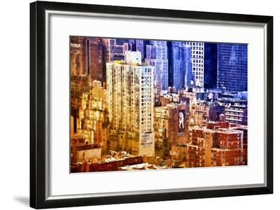 New York District Colors-Philippe Hugonnard-Framed Giclee Print