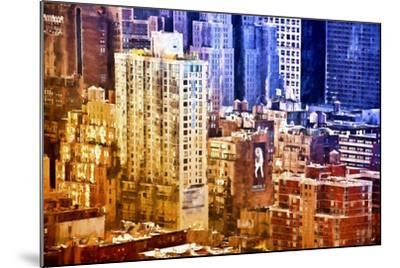 New York District Colors-Philippe Hugonnard-Mounted Giclee Print