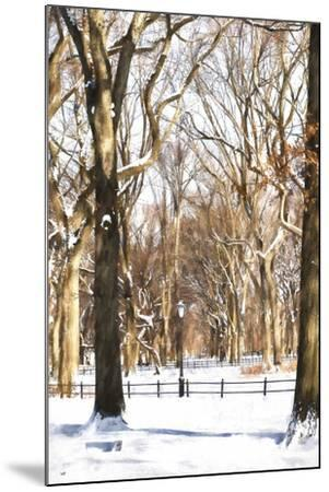 Snow in Central Park-Philippe Hugonnard-Mounted Giclee Print