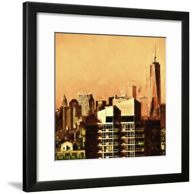 Heat in Town-Philippe Hugonnard-Framed Giclee Print