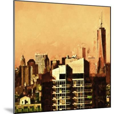 Heat in Town-Philippe Hugonnard-Mounted Giclee Print
