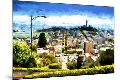 San Franciso-Philippe Hugonnard-Mounted Giclee Print