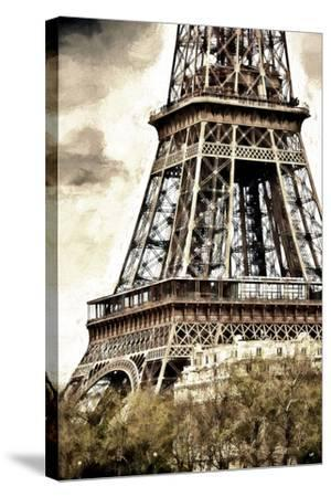 Detail Eiffel Tower-Philippe Hugonnard-Stretched Canvas Print