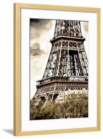 Detail Eiffel Tower-Philippe Hugonnard-Framed Giclee Print