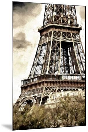 Detail Eiffel Tower-Philippe Hugonnard-Mounted Giclee Print