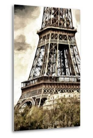 Detail Eiffel Tower-Philippe Hugonnard-Metal Print
