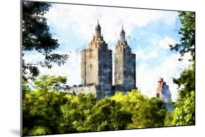 Central Park West-Philippe Hugonnard-Mounted Giclee Print