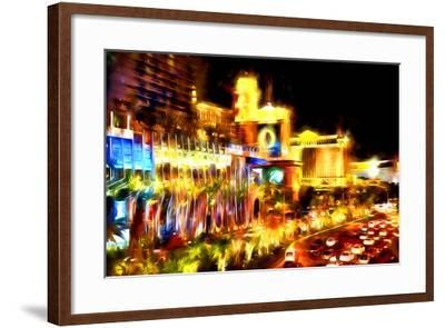 Vegas Palace - In the Style of Oil Painting-Philippe Hugonnard-Framed Giclee Print