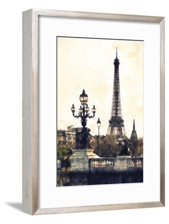 Paris So Romantic-Philippe Hugonnard-Framed Giclee Print