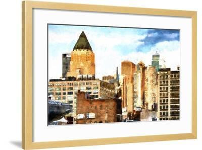 New York Architecture II-Philippe Hugonnard-Framed Giclee Print