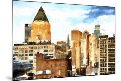 New York Architecture II-Philippe Hugonnard-Mounted Giclee Print