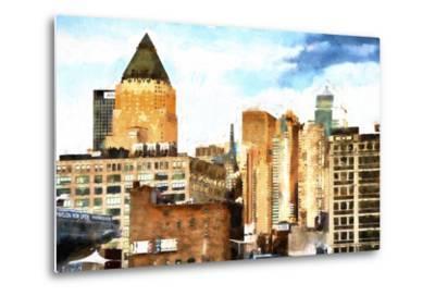 New York Architecture II-Philippe Hugonnard-Metal Print