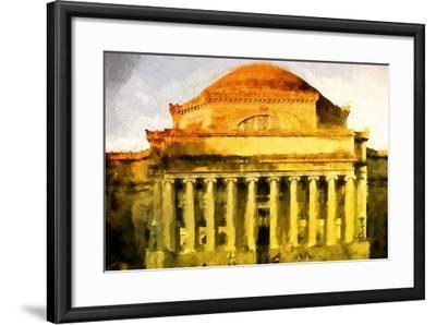 Columbus University-Philippe Hugonnard-Framed Giclee Print