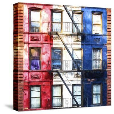 American Windows-Philippe Hugonnard-Stretched Canvas Print