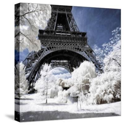 Majestic Forest - In the Style of Oil Painting-Philippe Hugonnard-Stretched Canvas Print
