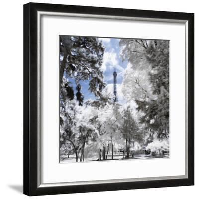 Discovery Paris III - In the Style of Oil Painting-Philippe Hugonnard-Framed Giclee Print