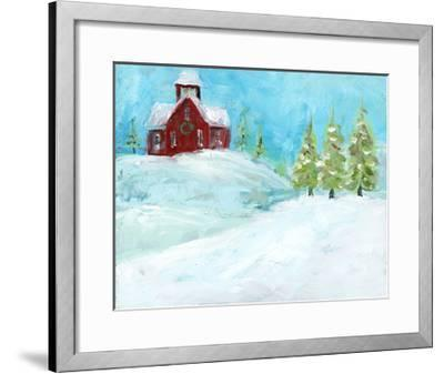Christmas Meadows-Pamela J. Wingard-Framed Art Print