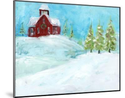 Christmas Meadows-Pamela J. Wingard-Mounted Art Print