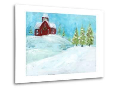 Christmas Meadows-Pamela J. Wingard-Metal Print