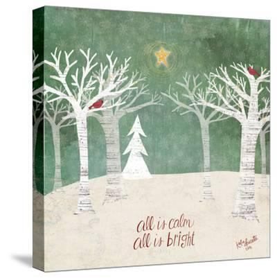 Christmas Trees-Katie Doucette-Stretched Canvas Print