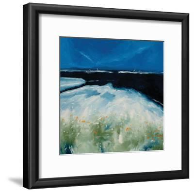 Beach with Flowers-Stuart Roy-Framed Art Print