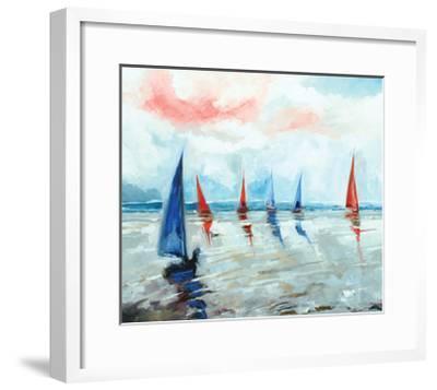 Sailing Boats Regatta-Stuart Roy-Framed Art Print