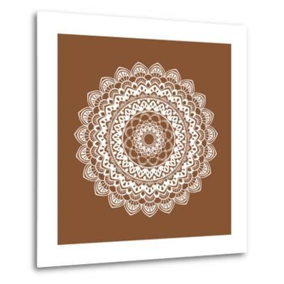 Mandala 6-Tamara Robertson-Metal Print