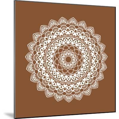Mandala 6-Tamara Robertson-Mounted Art Print