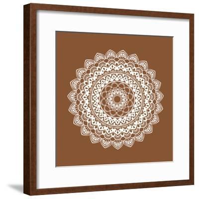 Mandala 6-Tamara Robertson-Framed Art Print