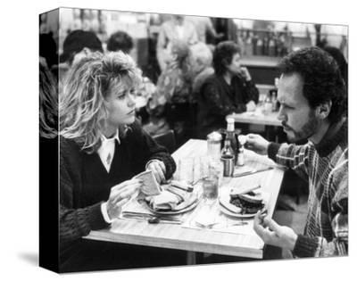 When Harry Met Sally...--Stretched Canvas Print