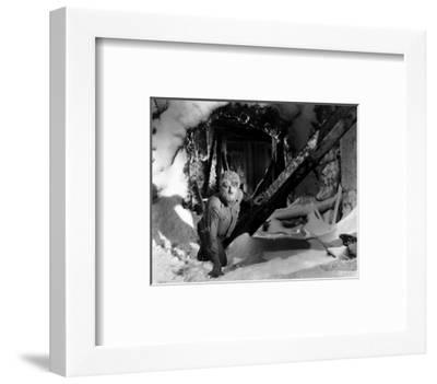 Frankenstein Meets the Wolf Man--Framed Photo