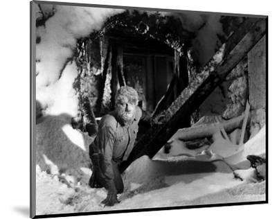 Frankenstein Meets the Wolf Man--Mounted Photo